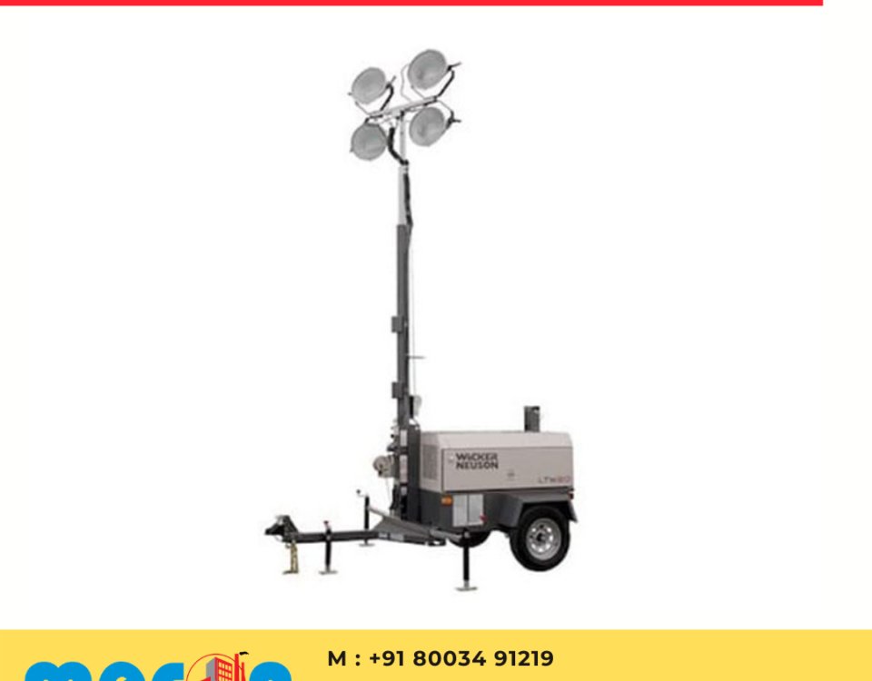 Towable Flood Light on rent in Udaipur, Rajasthan